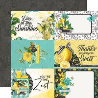 Simple Stories - Simple Vintage Lemon Twist Collection - 12 x 12 Double Sided Paper - 4 x 6 Elements
