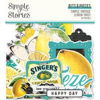 Simple Stories - Simple Vintage Lemon Twist Collection - Bits and Pieces