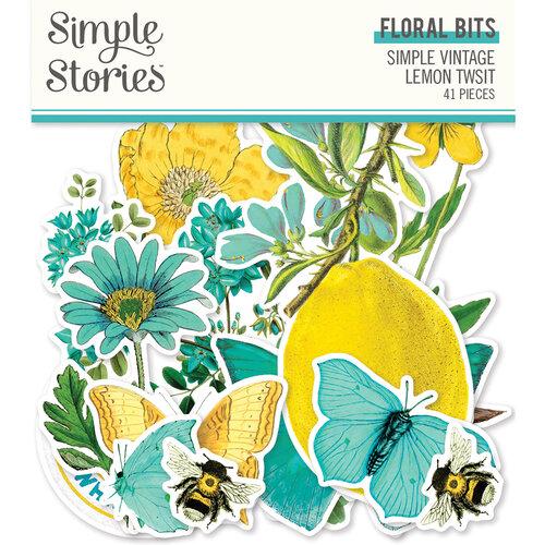 Lemon Floral Bits