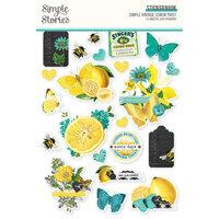 Simple Stories - Simple Vintage Lemon Twist Collection - Sticker Book