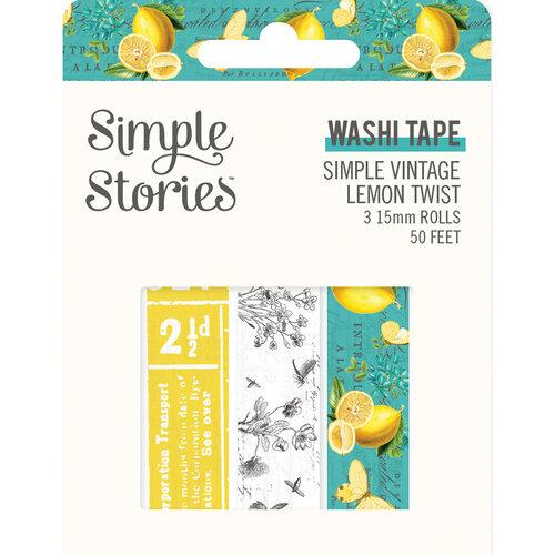 Simple Stories - Simple Vintage Lemon Twist Collection - Washi Tape