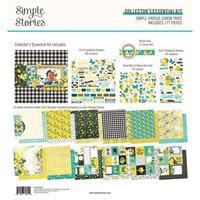 Simple Stories - Simple Vintage Lemon Twist Collection - Collector's Essential Kit