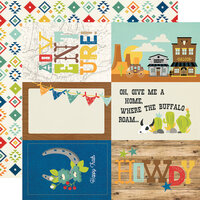 Simple Stories - Howdy! Collection - 12 x 12 Double Sided Paper - 4 x 6 Elements