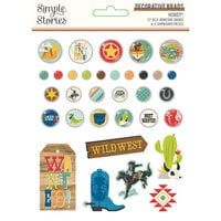 Simple Stories - Howdy! Collection - Decorative Brads