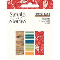 Simple Stories - Howdy! Collection - Washi Tape