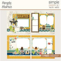 Simple Stories - Simple Pages Collection - Page Kit - Wanted