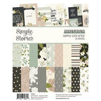 Simple Stories - Happily Ever After Collection - 6 x 8 Paper Pad