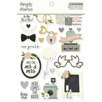 Simple Stories - Happily Ever After Collection - Sticker Book