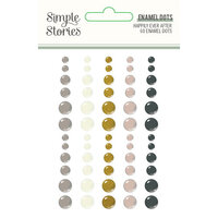 Simple Stories - Happily Ever After Collection - Enamel Dots