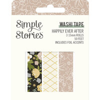 Simple Stories - Happily Ever After Collection - Washi Tape