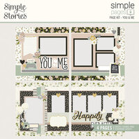 Simple Stories - Simple Pages Collection - Page Kit - You and Me