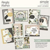 Simple Stories - Happily Ever After Collection - Card Kit - Just Married