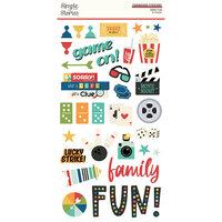 Family Fun Chipboard