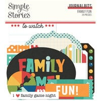 Family Fun Journal Bits & Pieces
