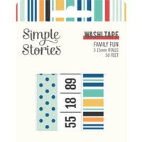 Simple Stories - Family Fun Collection - Washi Tape