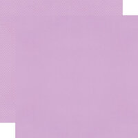 Simple Stories - Color Vibe Collection - 12 x 12 Textured Cardstock - Lilac