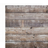 Simple Stories - Color Vibe Collection - 12 x 12 Double Sided Paper - Cedar