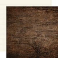 Simple Stories - Color Vibe Collection - 12 x 12 Double Sided Paper - Walnut