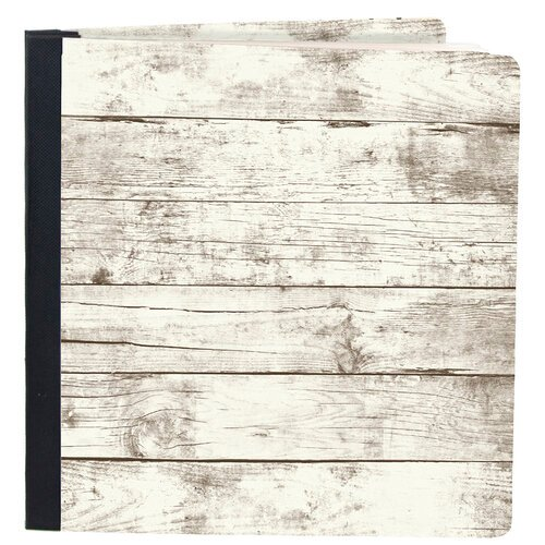 Simple Stories - SNAP Studio Flipbook Collection - 6 x 8 Flipbook - Whitewashed Wood