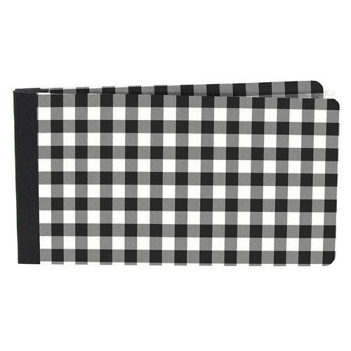 Simple Stories - SNAP Studio Flipbook Collection - 4 x 6 Flipbook - Black Buffalo Check