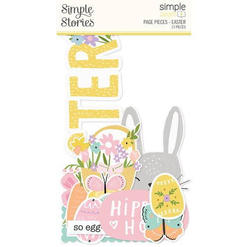 Simple Stories - Simple Pages Collection - Page Pieces - Easter