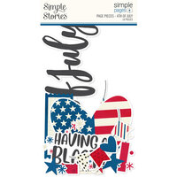 Simple Stories - Simple Pages Collection - Page Pieces - 4th of July