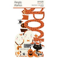 Simple Stories - Simple Pages - Page Pieces - Halloween
