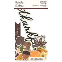 Simple Stories - Simple Pages Collection - Page Pieces - Thanksgiving