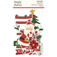 Simple Stories - Simple Pages Collection - Page Pieces - Christmas
