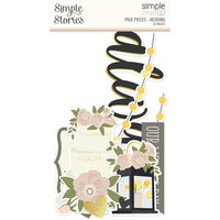 Simple Stories - Simple Pages Collection - Page Pieces - Wedding