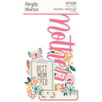 Simple Stories - Simple Pages Collection - Page Pieces - Mother's Day
