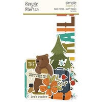 Simple Stories - Simple Pages - Page Pieces - Happy Trails