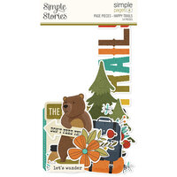 Simple Stories - Simple Pages Collection - Page Pieces - Happy Trails
