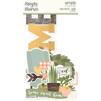 Simple Stories - Simple Pages Collection - Page Pieces - Home
