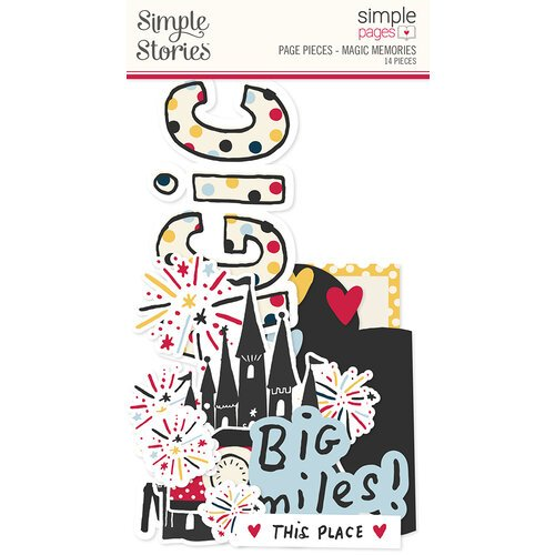 Simple Stories - Simple Pages Collection - Page Pieces - Magic Memories