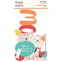 Simple Stories - Simple Pages Collection - Page Pieces - Meow