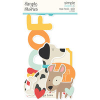Simple Stories - Simple Pages Collection - Page Pieces - Woof