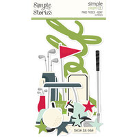 Simple Stories - Simple Pages Collection - Page Pieces - Golf