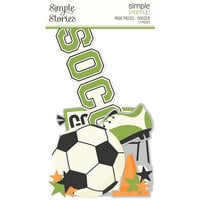 Simple Stories - Simple Pages Collection - Page Pieces - Soccer