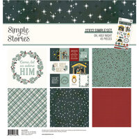 Simple Stories - Oh, Holy Night Collection - Christmas - 12 x 12 Collection Kit