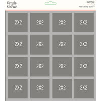 Simple Stories - Simple Pages Collection - Page Template - Design 7