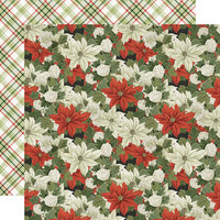 Simple Stories - Simple Vintage Rustic Christmas Collection - 12 x 12 Double Sided Paper - Season's Best