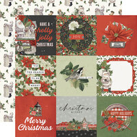 Simple Stories - Simple Vintage Rustic Christmas Collection - 12 x 12 Double Sided Paper - 4 x 4 Elements
