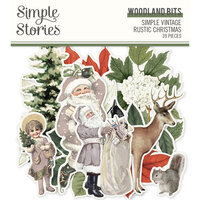 Simple Stories - Simple Vintage Rustic Christmas Collection - Woodland Bits and Pieces