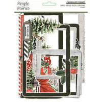 Simple Stories - Simple Vintage Rustic Christmas Collection - Chipboard Frames
