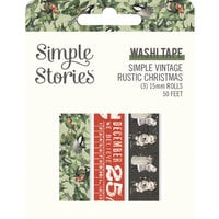 Simple Stories - Simple Vintage Rustic Christmas Collection - Washi Tape