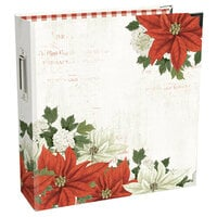Simple Stories -SNAP Studio Collection - Binder - Simple Vintage Rustic Christmas