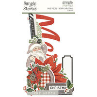Simple Stories - Simple Pages Collection - Page Pieces - Merry Christmas