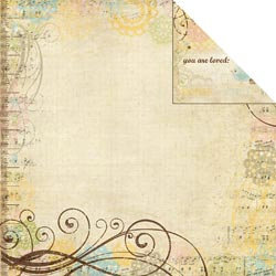 Memory Works - Simple Stories - Baby Steps Collection - 12 x 12 Double Sided Paper - Special Delivery
