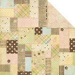Memory Works - Simple Stories - Baby Steps Collection - 12 x 12 Double Sided Paper - Sweet Dreams